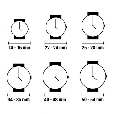 Horloge Pot de table Bicolore 144450